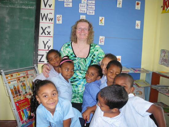 Susan Scott in Belize